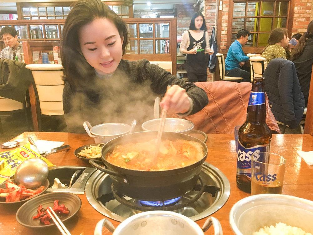 Divine Tio Kimchi Jjigae Seoul