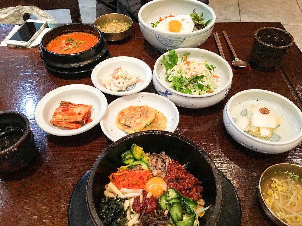 Divine Tio Bibimbap Natto Jjigae Seoul