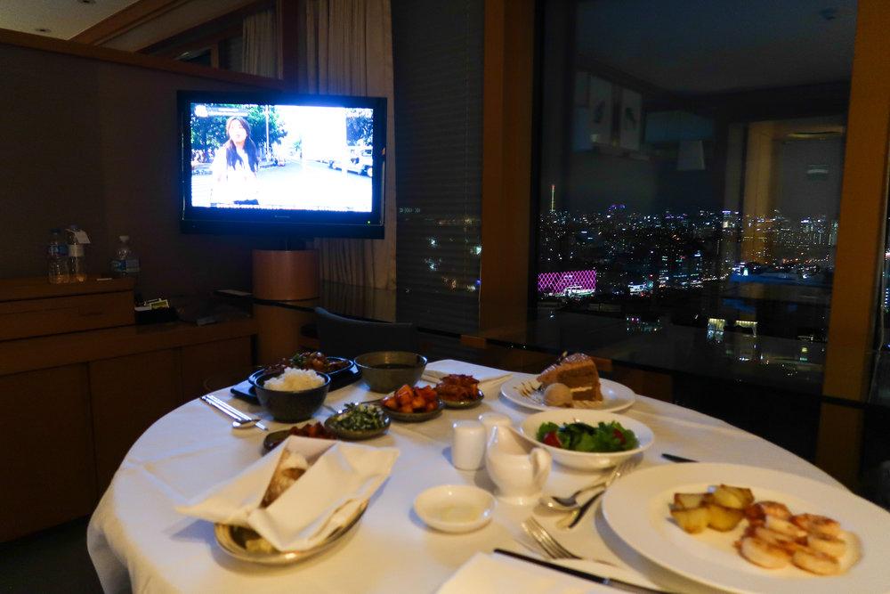 Divine Tio Room Service Grand Hyatt Seoul