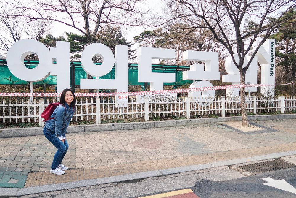 Divine Tio Han River Seoul Yeouido Park