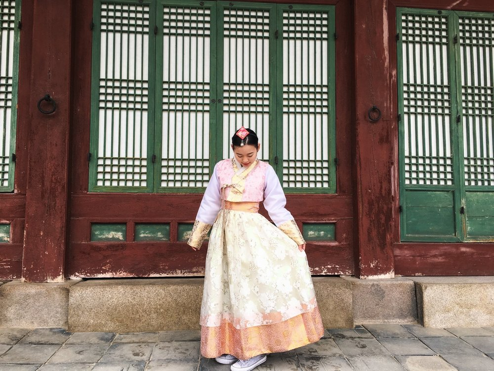 Divine Tio Hanbok Seoul South Korea