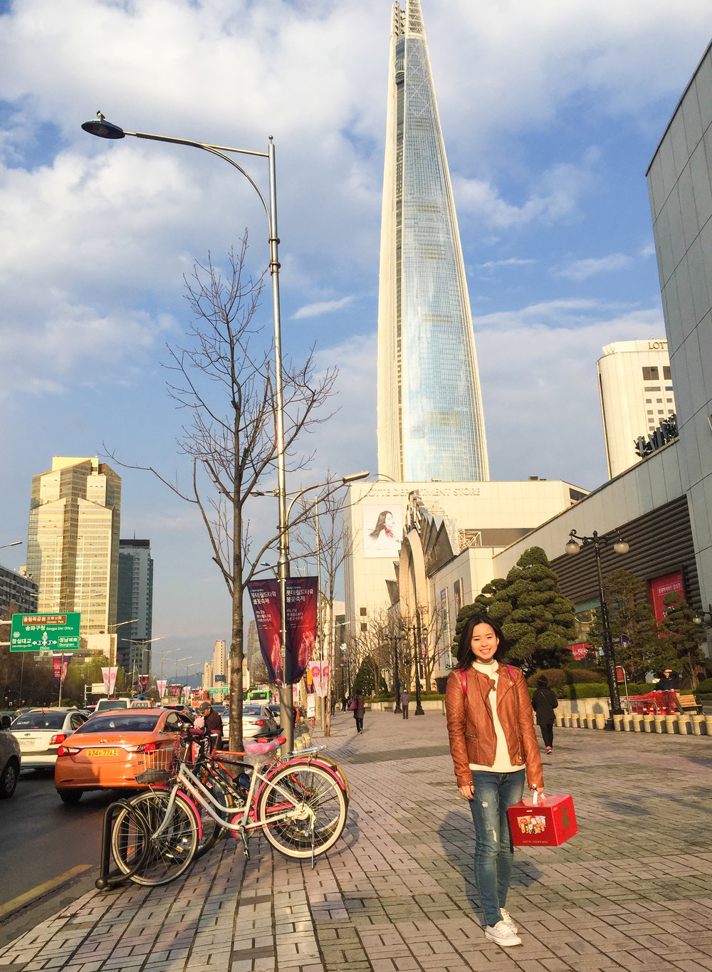 Divine Tio Lotte World Tower Seoul South Korea