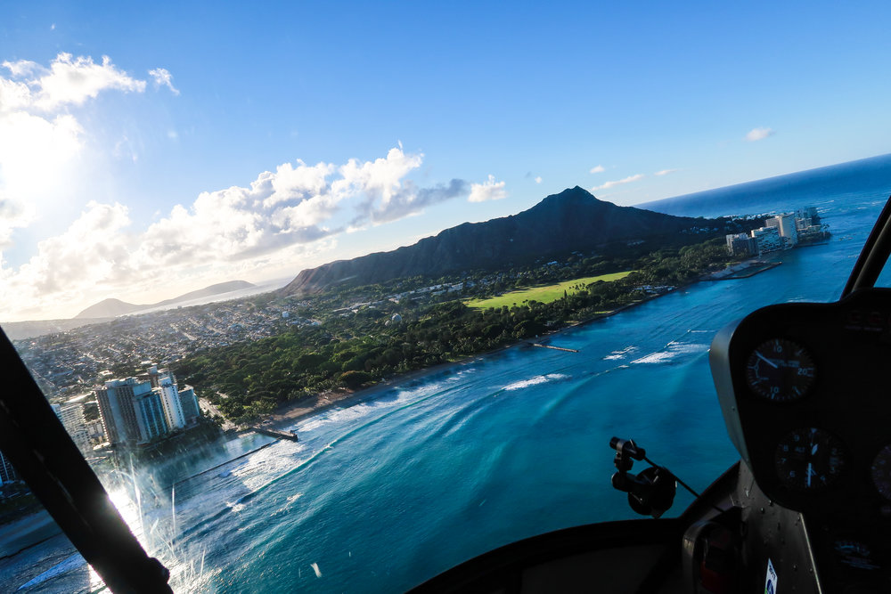 Divine Tio Diamond Head Aerial Novictor Helicopter