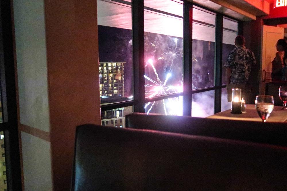 Divine Tio Sarento's Ilikai Waikiki Fireworks