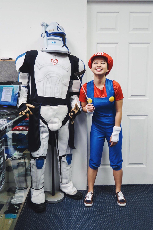 Divine Tio Super Mario Bros Stormtrooper SuperGeeks Hawaii