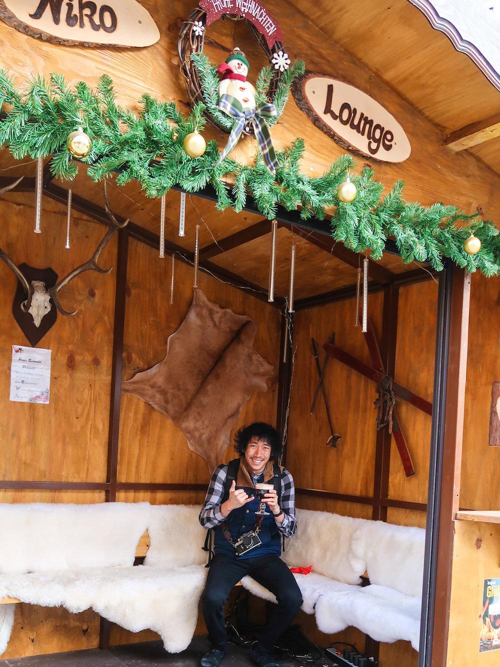Rüdesheim Am Rhein Christmas Market Glühbier Atis Puampai Divine Tio