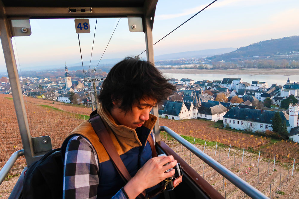 Rüdesheim Am Rhein Cable Car Atis Puampai Divine Tio