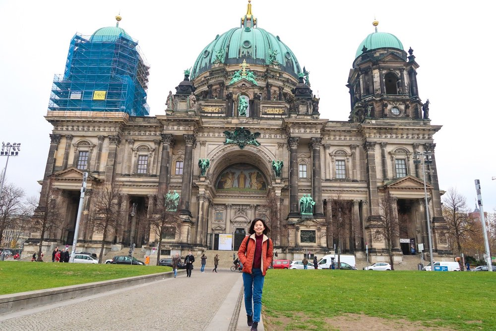 Berlin Cathedral Church Divine Tio