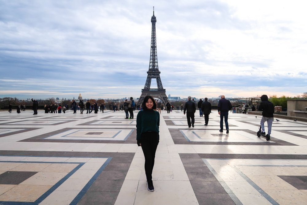 Eiffel Tower Trocadéro Paris France Divine Tio