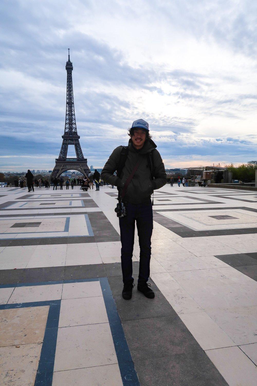 Eiffel Tower Trocadéro Paris France Atis Puampai Divine Tio