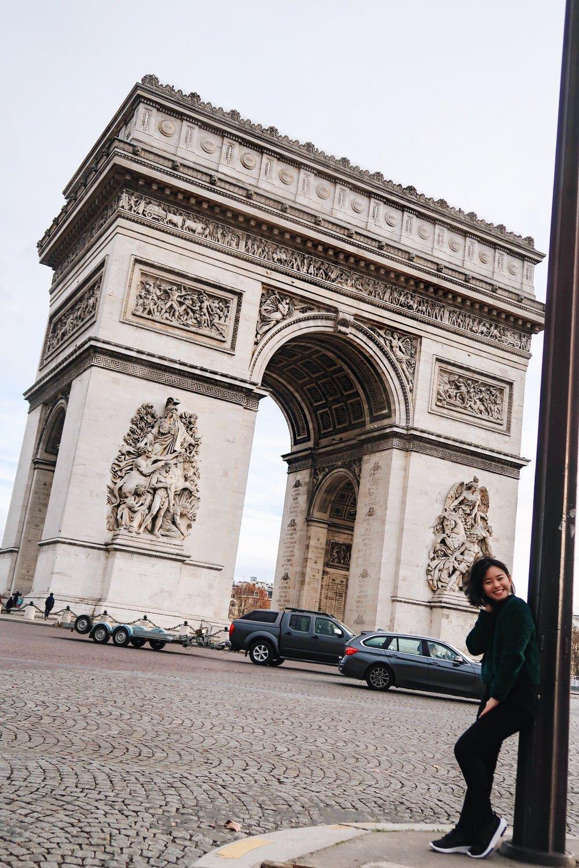 Arc de Triomphe Paris France Divine Tio