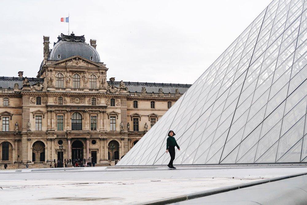 Louvre Museum Paris France Divine Tio