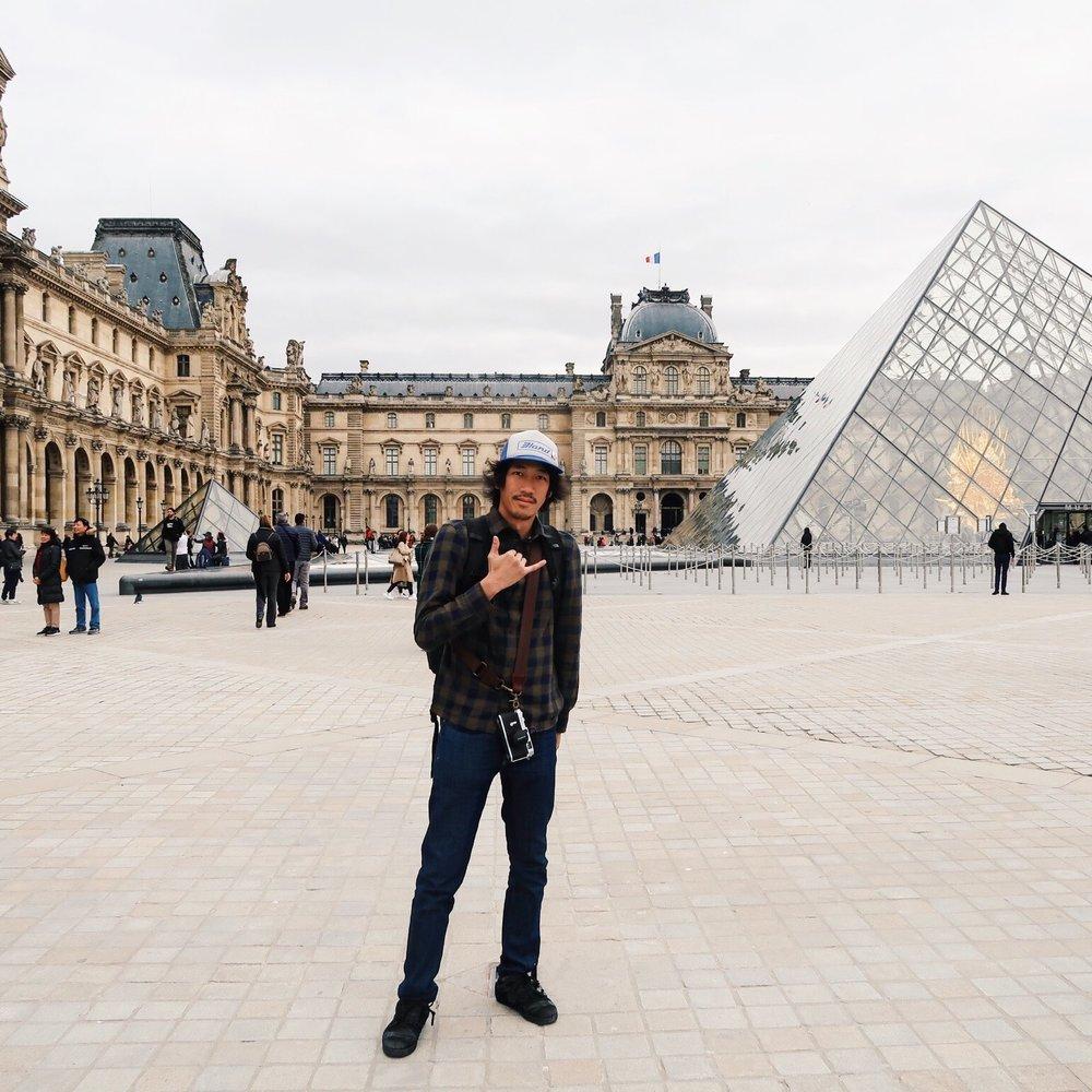 Louvre Museum Paris France Atis Puampai Divine Tio