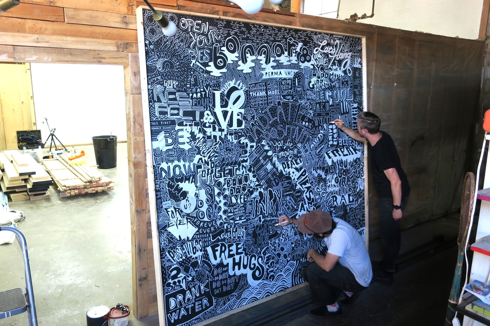 FINISHING TOUCHES - WORD WALL-ROO .JPG