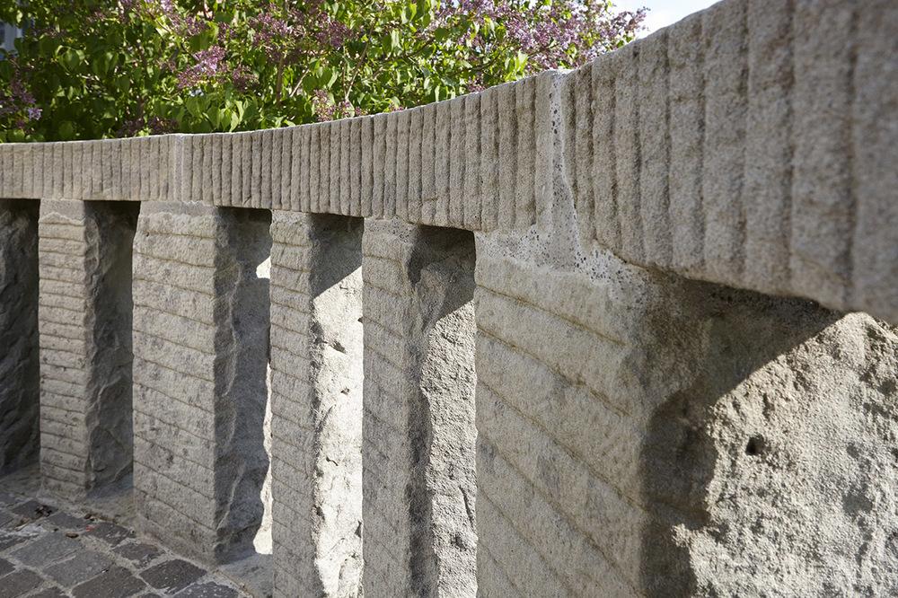 Sanierung Friedhofmauer