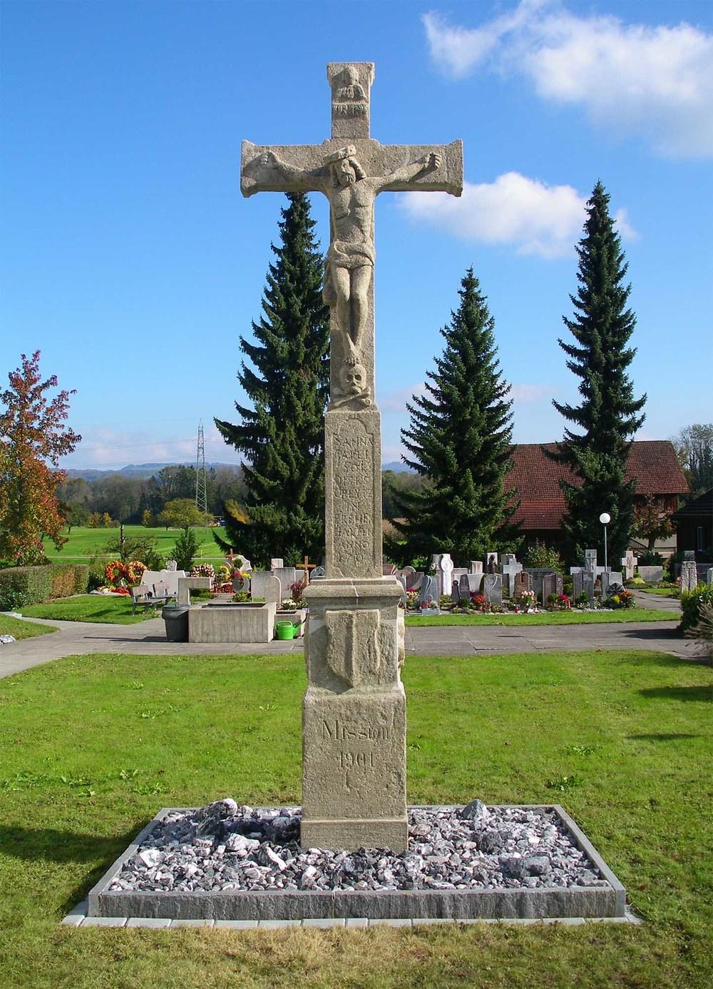 Sanierung Friedhofkreuz