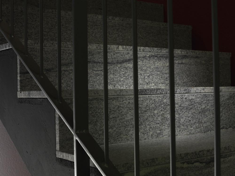 Treppe in Naturstein