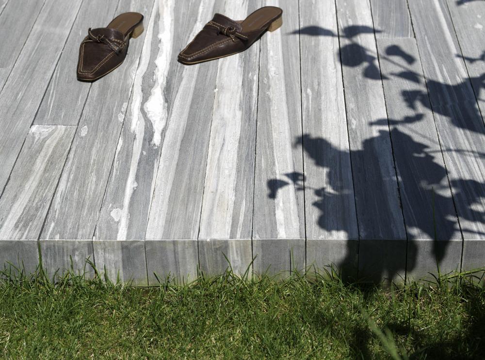 Boden in Naturstein