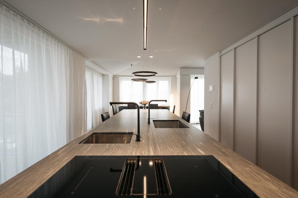 Küche aus Naturstein