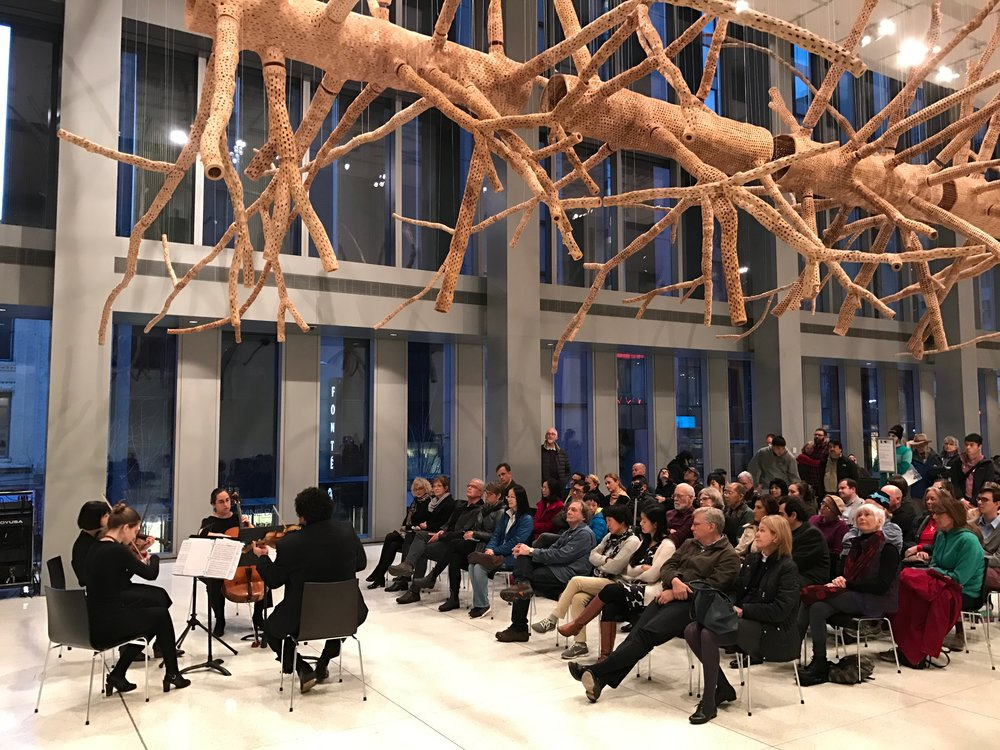 Music of Joseph Haydn at Seattle Art Museum, March 2017.