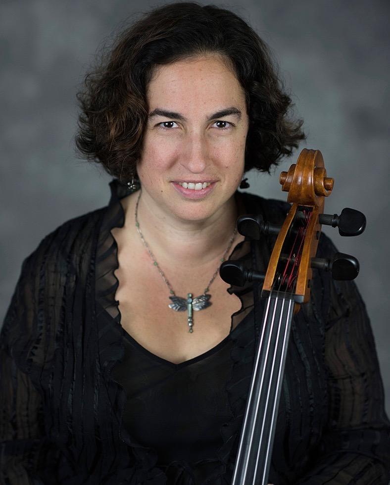 Cellist Mary Riles