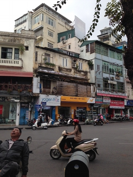 - Loved my temporary living in Hanoi...