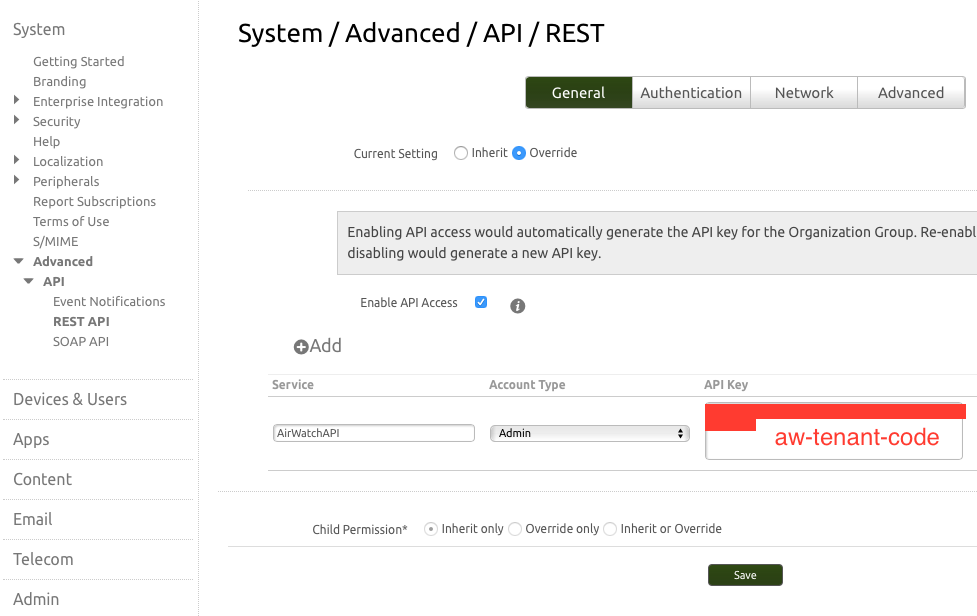 AirWatch: How to use the REST API — Mac Lovin'