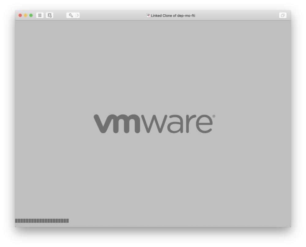 "press ""R"" at the VMware logo (you may need to click in the VM so it captures your keystrokes)"