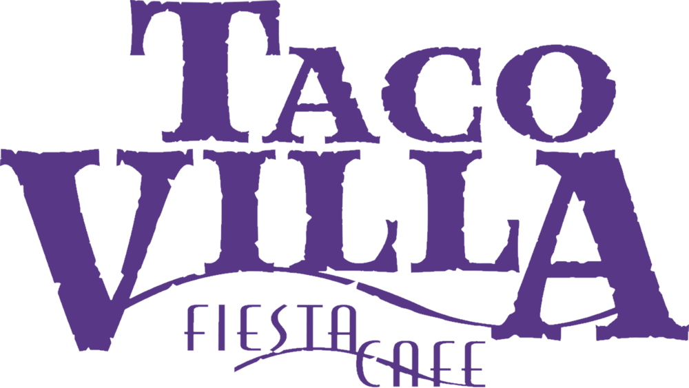 Taco Villa Fiesta Cafe logo in blurple.png