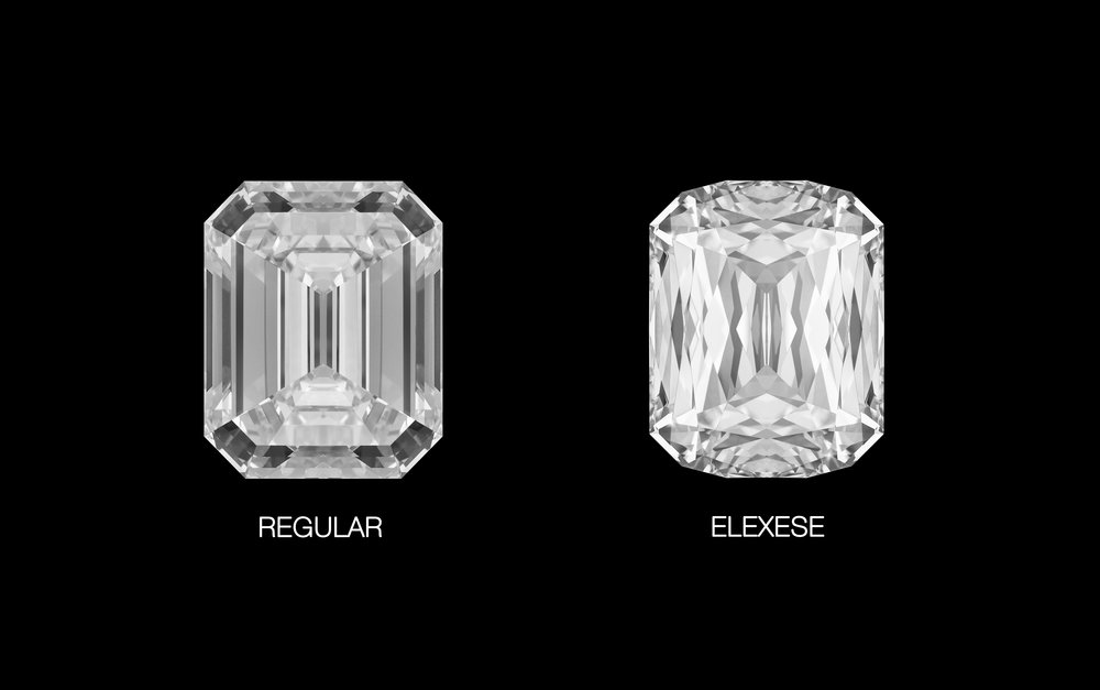 The Elexese is a beautiful re-interpretation of the classic emerald cut