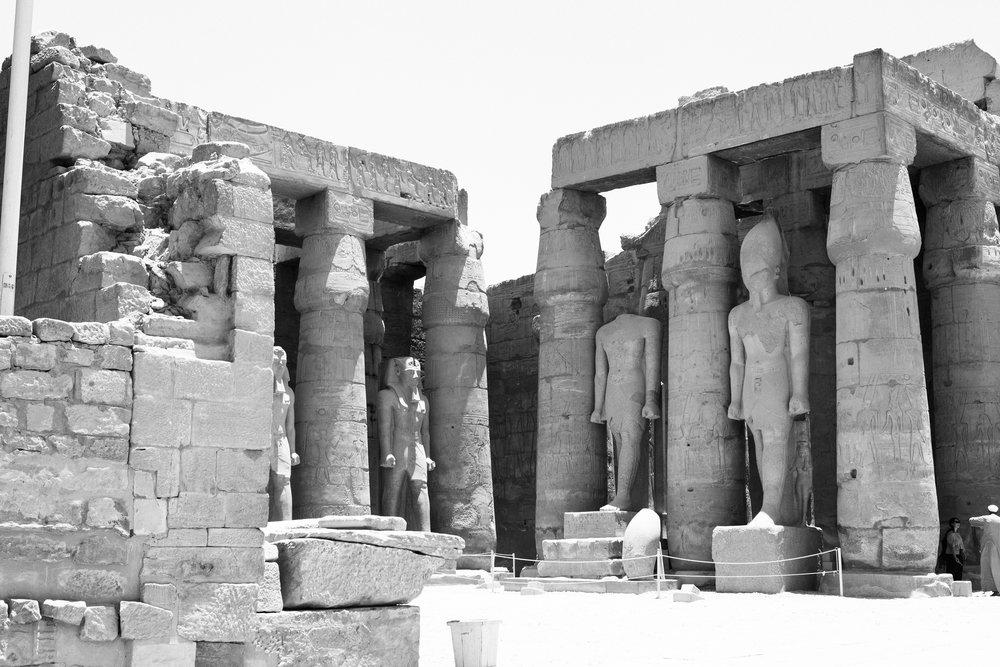 Egyiptom - Luxor; az egykori Théba földje LuxorTemple_8939