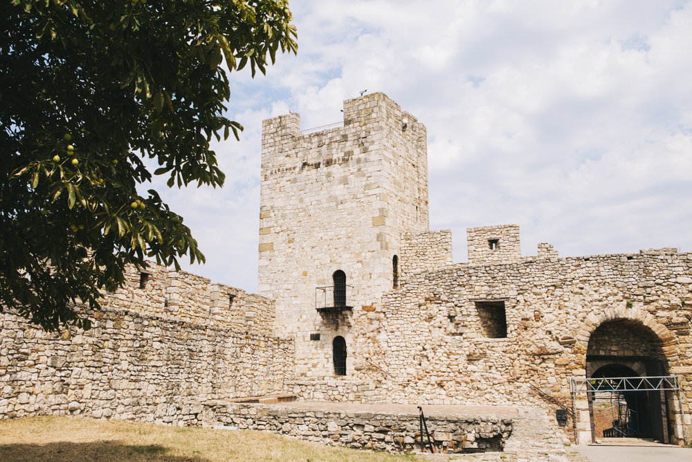 Belgrade Fortress consists of the old citadel and Kalemegdan Park and is on the confluence of the River Sava and Danube.