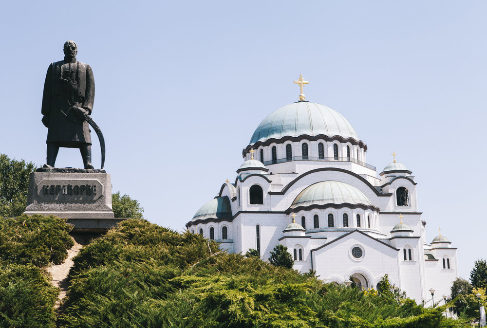 The Church of Saint Sava is not only the largest Serbian Orthodox church but it is the largest Orthodox place of worship in the Balkans and is one of the largest Orthodox churches in the world.