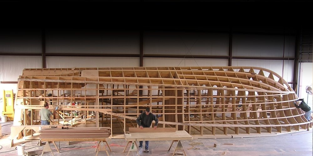 PRODUCTION ENGINEERING FOR WOODEN VESSELS