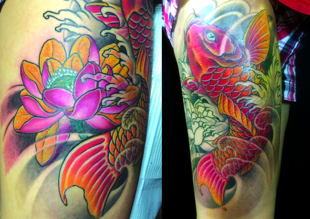 koi w lotus on thigh.jpg