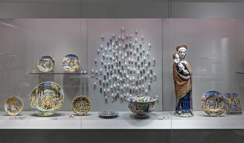 2018 Installation at Gardiner Museum (Toronto)   Photo: Toni Hafkenscheid