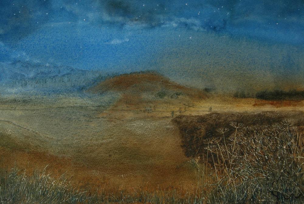 Imaginary Landscape: Bright Moonlit Night