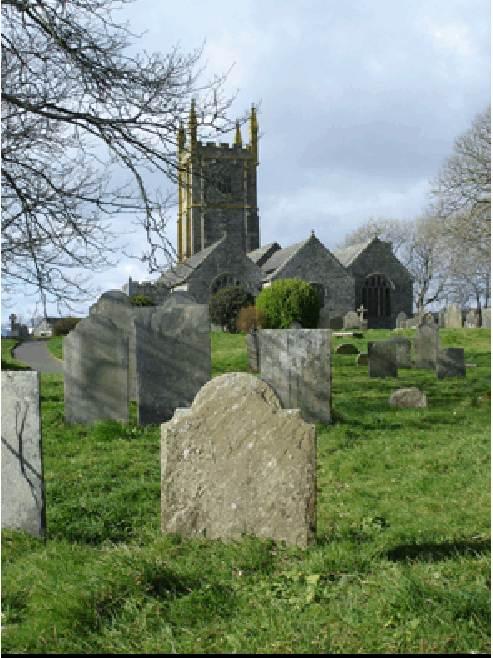 Lydia Grenfell's gravestone