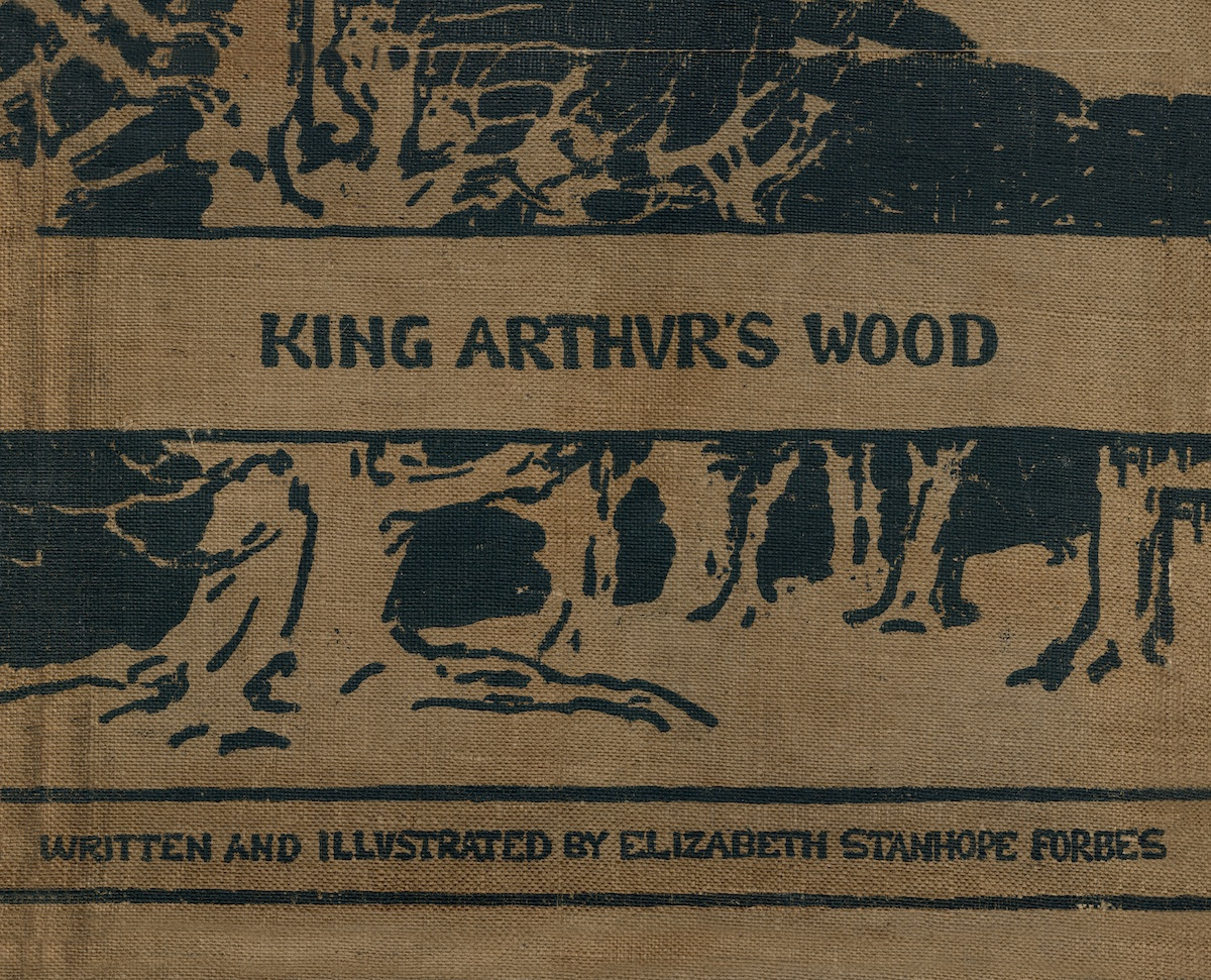 King Arthur's Wood front cover