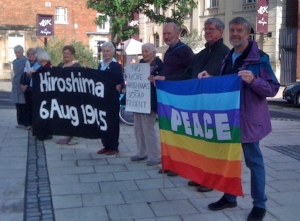 Abingdon Peace Group is a community-based, independent peace group, with affiliations to Oxfordshire Peace Campaign, the Campaign for Nuclear Disarmament, the Campaign against the Arms Trade, and the Movement for the Abolition of War.  Our aims include:  ending the arms trade  understanding the causes of war  supporting non-violent ways to resolve conflicts  calling for a stronger United Nations  promoting the use of international law  getting rid of nuclear, chemical & biological weapons    We hold monthly open meetings on the3rdTuesday of each month (except August), 8-10pm in the Northcourt Centre, to which all are welcome. We also publish a monthly newsletter which is available by email or can be delivered free within Abingdon. Request from: abingdonpeace@gmail.com  Facebook :  https://www.facebook.com/pages/Abingdon-Peace-Group/302931733139710   Twitter: @PeaceAbingdon  Contact details: Abingdon Peace Group. tel 526265 or 522163 email: abingdonpeace@gmail.com