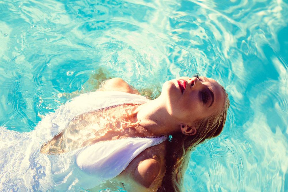 Model: Rory McFadden. Bathing suit from Asos.com.