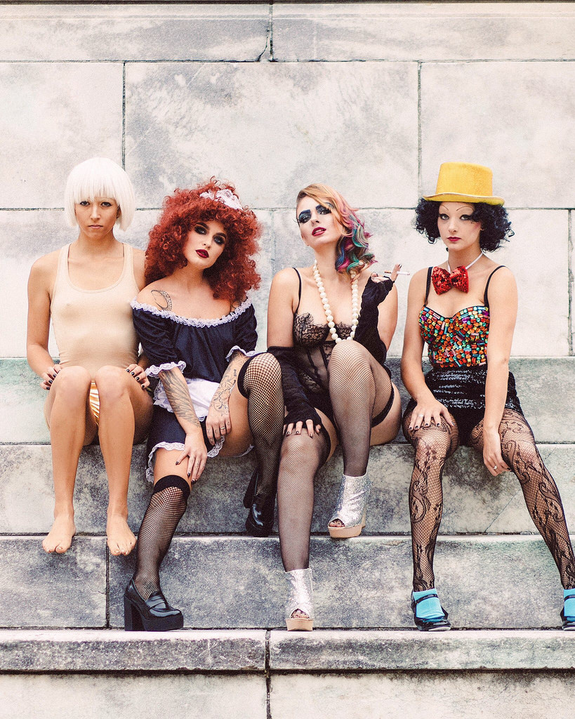 Models: Sara Crooks, Markie Meghan, Megan Larkin, Courtney Elizabeth. Photography and creative direction by me. Concept and styling by Megan Larkin. Makeup by Courtney McCormick and Markie Meghan. Hair by Sarah Vitek.