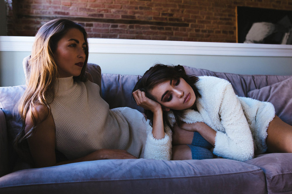 Models: Sara Crooks and Felicia Flaherty for CIMA Talent and Click Models. Stylist: Kate Castofano. Hair: Sarah Vitek for Edge Evolution Salon and Spa. Makeup: Courtney McCormick. Clothing provided by: Brightside Boutique, StyleWe and Urban Outfitters.