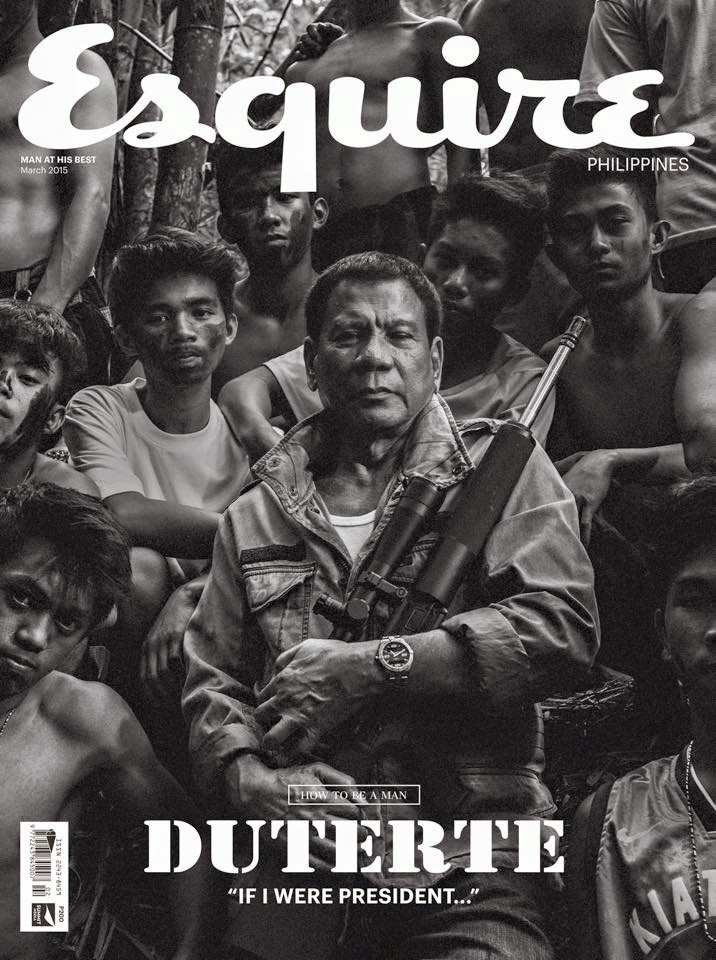 President Rodrigo Duterte | Photo from Esquire Philippines