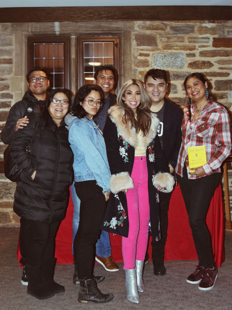 My friends and I got to meet Jose Antonio Vargas!
