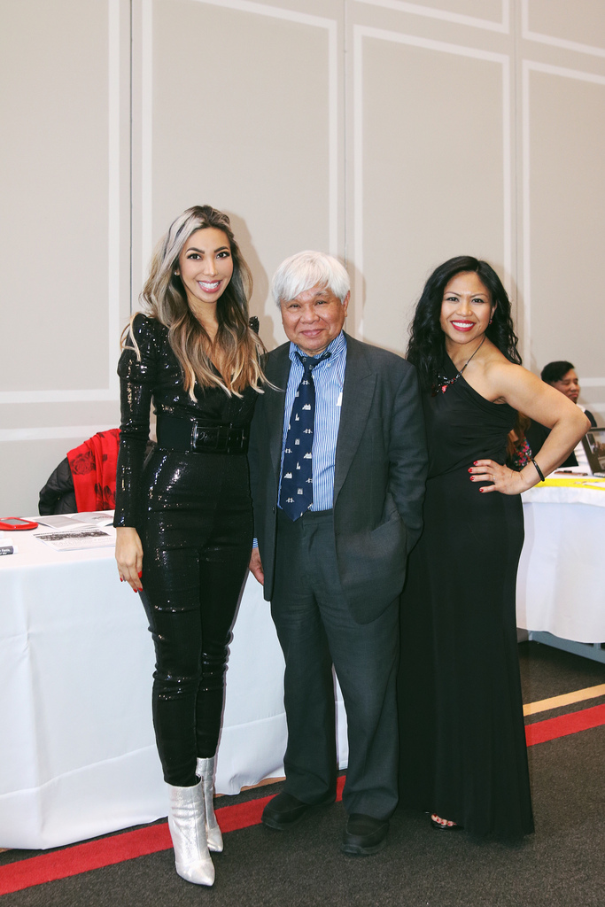 With my mentor, Filipino American activist/journalist, Jon Melegrito, and Dr. Jennifer Marana at the Filipino American Studies (FAST) gala at University of Maryland - College Park last month.