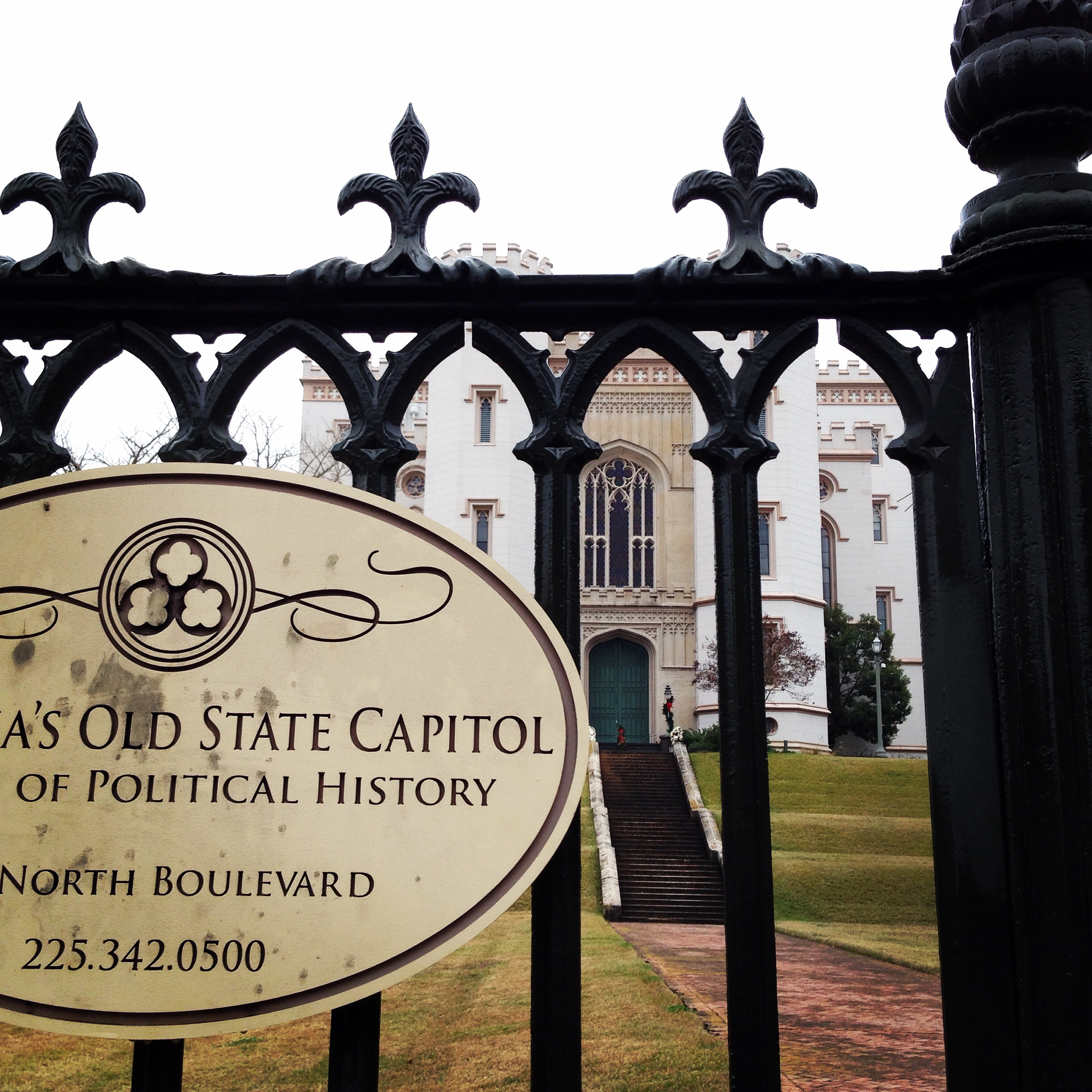 old state capitol building.