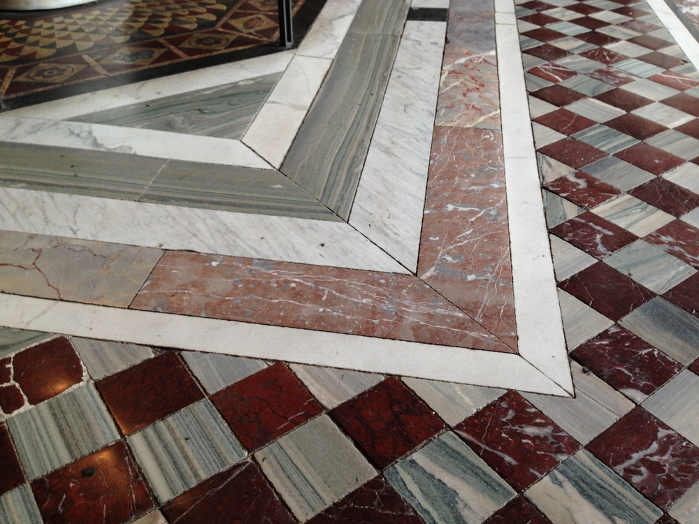 Neat floors everywhere.