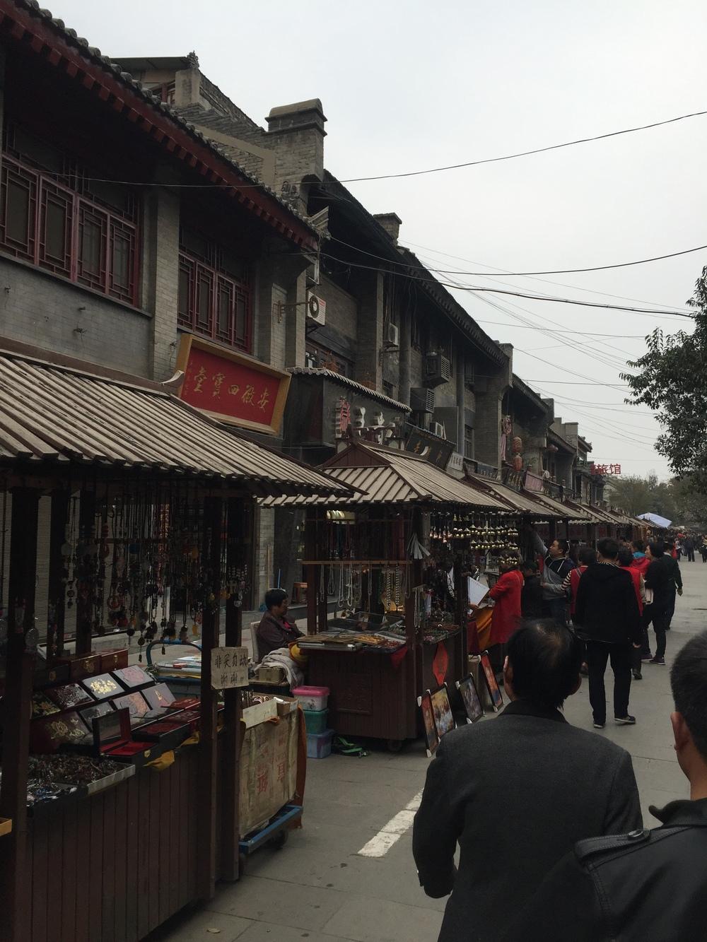 Writer street stalls