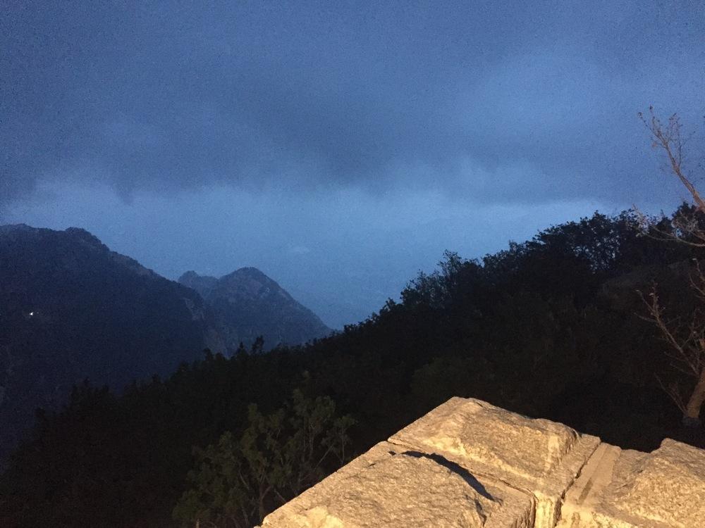 Summit sunrise 1.